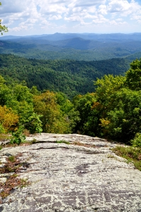 The Western North Carolina Mountains not too far from Asheville Summer 2012 (Photograph: Ross Peters)