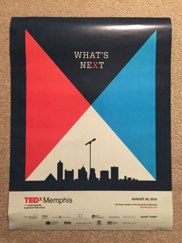 Poster from TEDxMemphis 2015