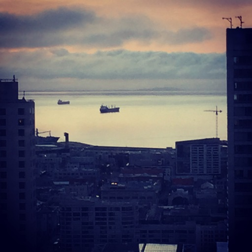 View from my hotel room on the final morning of my visit to San Francisco