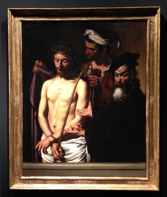"""Caravaggio, """"Ecce Homo"""""""