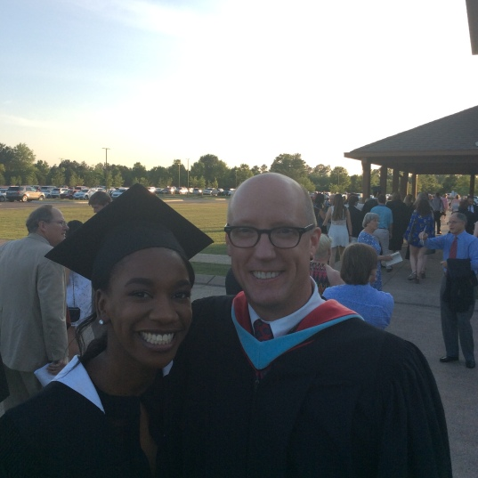 With Paige Madison, Member of the Class of 2016